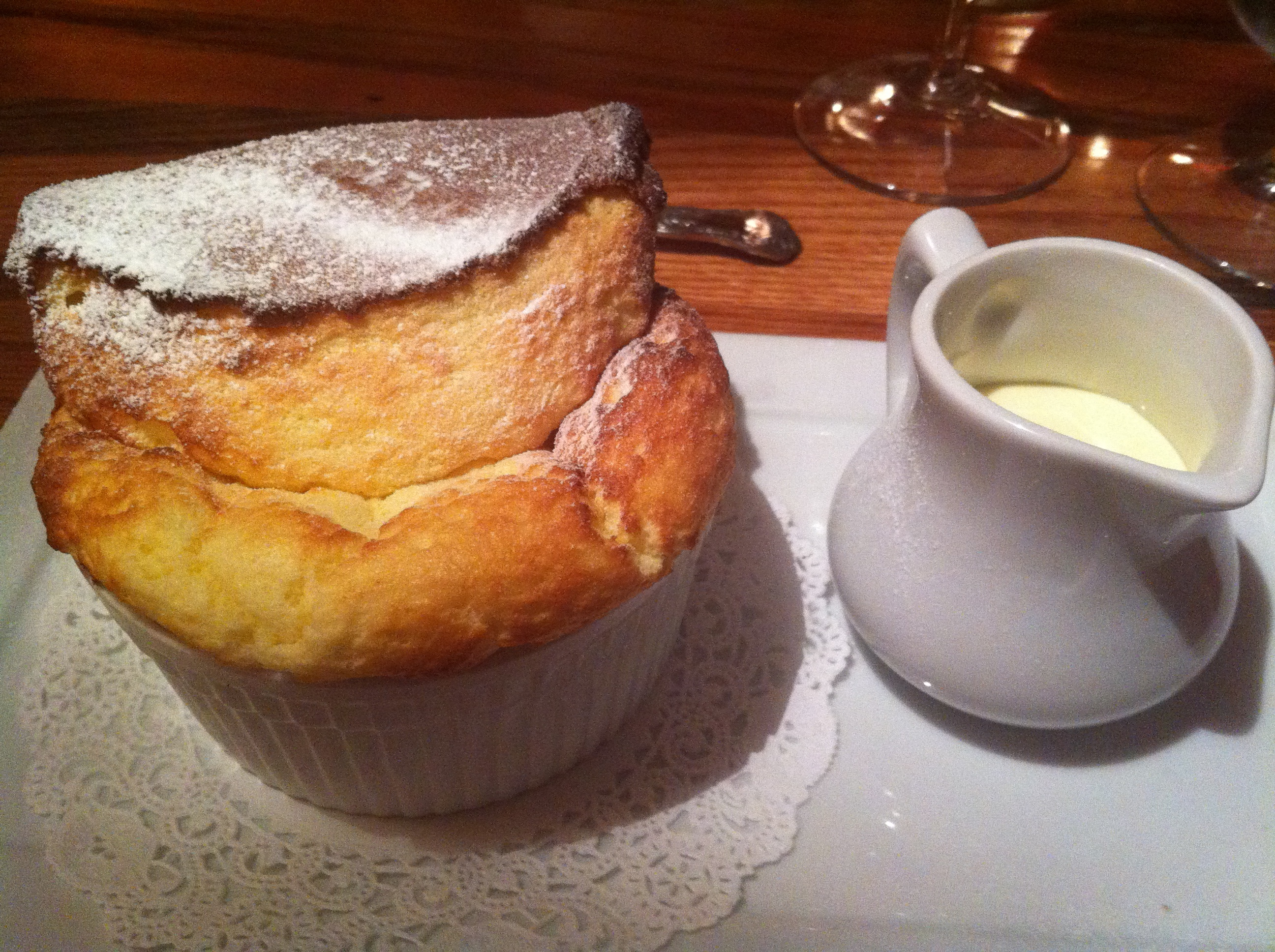 Vanilla Souffle